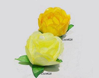 Rosa Bela Tons Amarelos