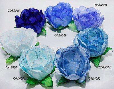 Rosa Bela Tons Azul