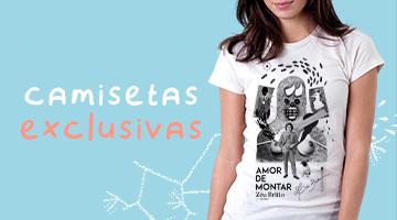 Camisetas - Amor de Montar