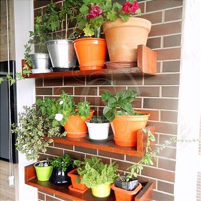 Prateleiras multiuso - ideal para vasos e hortas