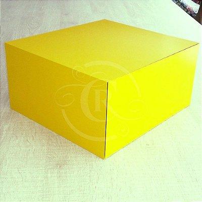 Criado mudo suspenso cor Amarelo