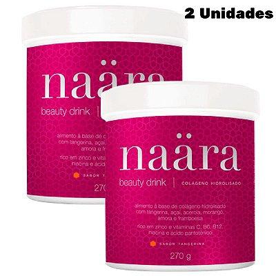 Naara Colágeno Hidrolisado JEUNESSE - Naara Beauty Drink 270g (2 Unidades)