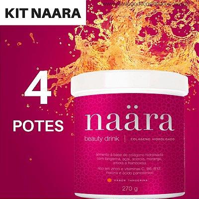 Naara Colágeno Hidrolisado JEUNESSE - Beauty Drink 270g (4 Unidades)