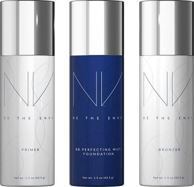 Kit Maquiagem ENVY JEUNESSE -  Prova De Água em Spray com Efeito Airbrush
