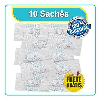Instatly Ageless creme Instantâneo JEUNESSE (10 Saches) - Frete Grátis