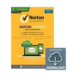 Antivirus Symantec Norton Security - 1 equipamento por 1 ANO - DOWNLOAD - 21335544