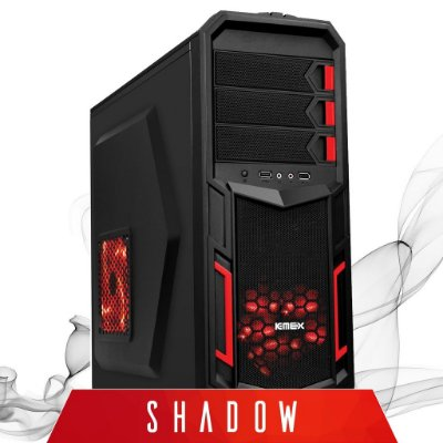 Computador Gamer SHADOW / Intel® Core™ I5-4440 3.10GHZ / 8GB / Geforce GT 730 2GB / HD 500GB / Gabinete Gamer Kemex