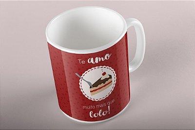 Caneca Valentine's - Bolo