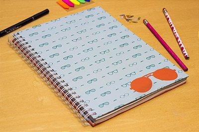 Caderno Escolar Óculos