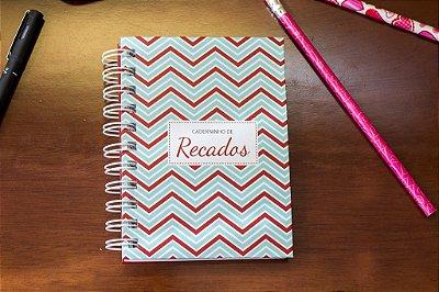 Caderno de Anotações Zig Zag