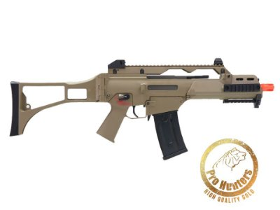 RIFLE AIRSOFT G36 BLOWBACK ARES AR-056