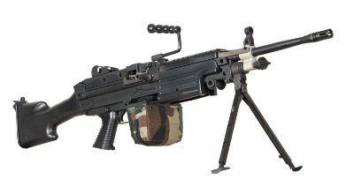 AIRSOFT ARES M249 - SC-MG-001- FULL METAL