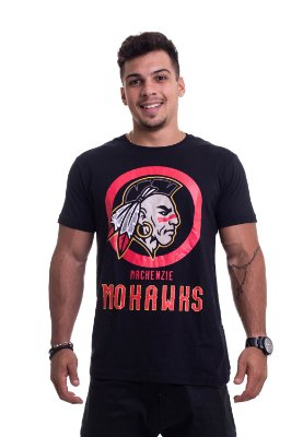Camiseta Mohawks Preta