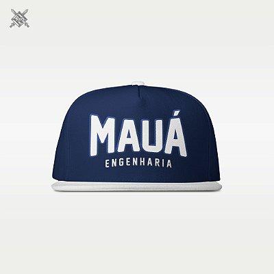 Boné Mauá Azul/Branco