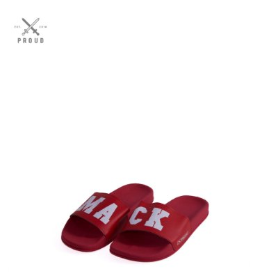 Chinelo Slide Vermelho MACK