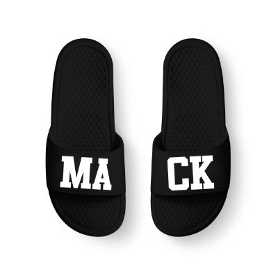 Chinelo Slide Preto MACK