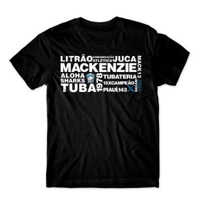 Camiseta Mackenzie 40 anos