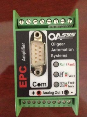 Controlador De Bomba Eletrônica Oilgear