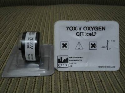 Sensor De Oxigenio 70x-v Oxygen Citicel
