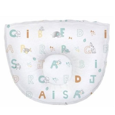 Travesseiro Bebê Anatômico Estampado Letrinhas Papi