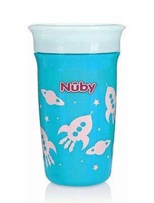 Copo Infantil 360° Azul 300ml Nûby