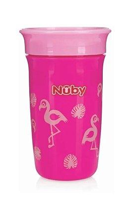 Copo Infantil 360° Rosa 300ml Nûby