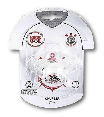 Chupeta Corinthians Borboleta Orto S2 Kids Gol