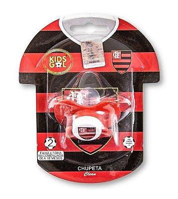 Chupeta Flamengo Borboleta Orto S2 Kids Gol