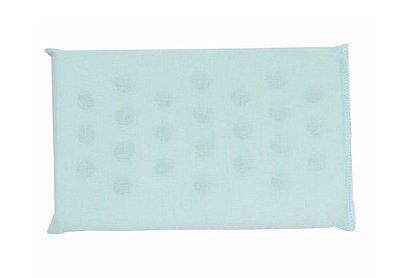 Travesseiro De Espuma Liso Verde Com Furos Papi