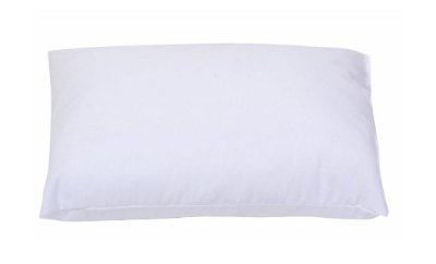 Travesseiro Baby Liso 40cm X 28cm Branco Papi