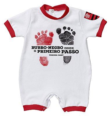 Macacão Bebê Flamengo Primeiro Passo - Torcida Baby
