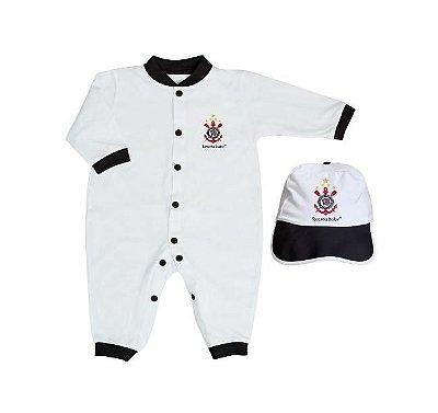 Kit Bebê Corinthians 2 Peças Longo - Torcida Baby