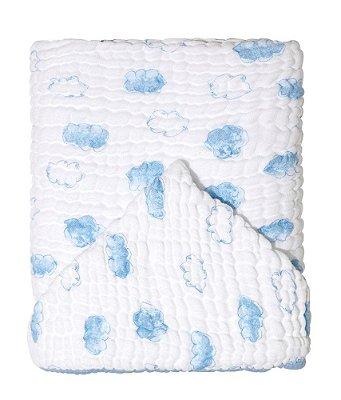 Toalha De Banho Bebê Soft Com Capuz Nuvem Papi