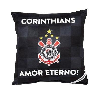 Almofada Corinthians Amor Eterno - Torcida Baby 25 x 20 Cm