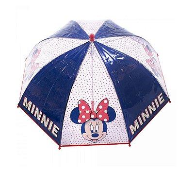 Guarda Chuva Infantil Transparente Minnie  - Disney
