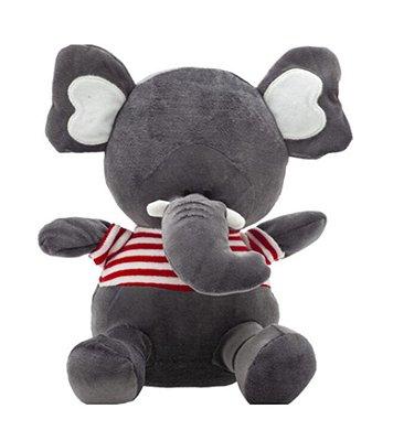 Pelúcia Amiguinhos Da Floresta Elefantinho 21Cm Zip