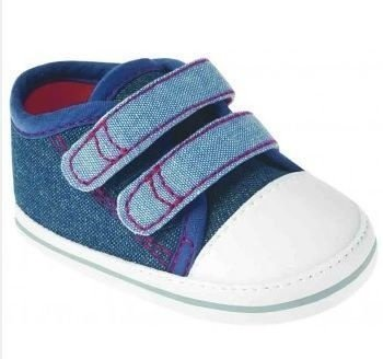 Tênis Bebê Pimpolho Diversão Jeans