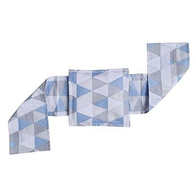 Bolsa Térmica de Sementes Com Cinta Triangulo Azul