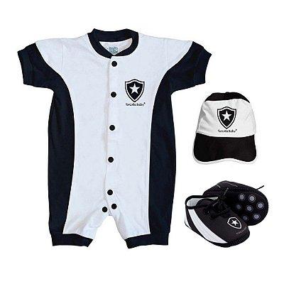Kit Bebê Botafogo 3 Peças Torcida Baby