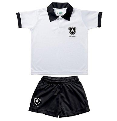 Conjunto Bebê Uniforme Polo Botafogo - Torcida Baby