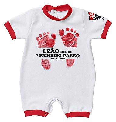 Macacão Bebê Vitória Primeiro Passo - Torcida Baby
