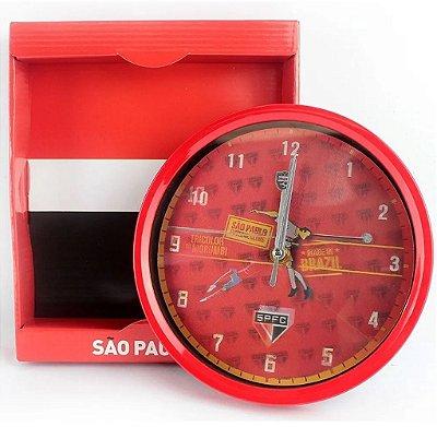 Relógio Parede São Paulo Oficial 20Cm