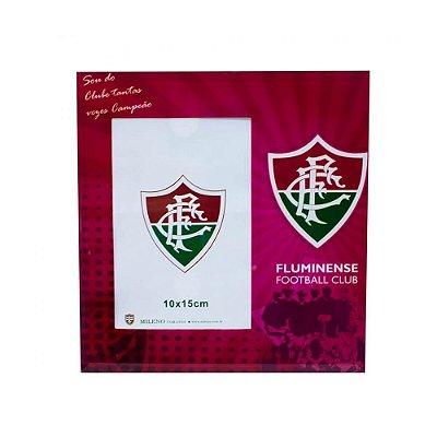 Porta Retrato de Vidro Fluminense Para 1 foto 10x15cm