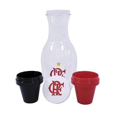 Jogo Moringa Com 3 Peças Plástico - Flamengo