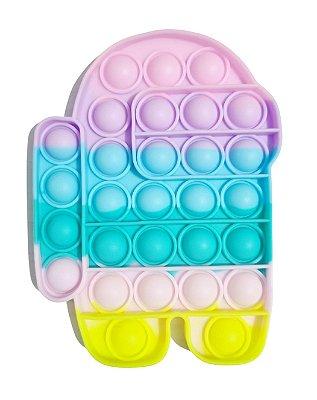 Brinquedo Fidget Toy Pop It Bubble Among Us 14cm