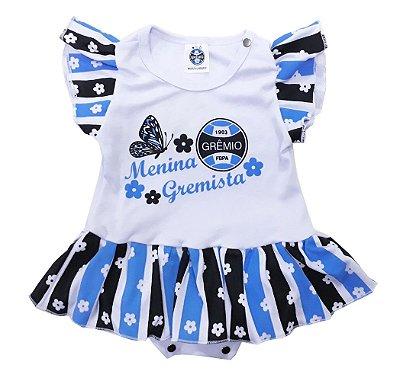 "Body Vestido Grêmio ""Menina Gremista"" Oficial"