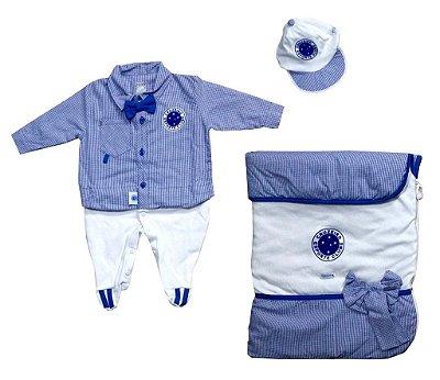 Kit Maternidade Cruzeiro Luxo Meninos Oficial