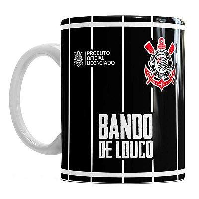 Caneca Corinthians Bando Louco 330ml Oficial