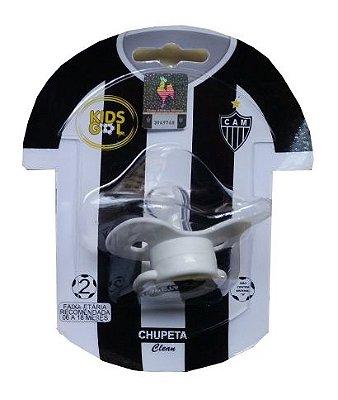 Chupeta Atlético MG Borboleta Redonda S2 Kids Gol