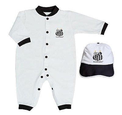 Kit Bebê Santos 2 Peças Longo - Torcida Baby